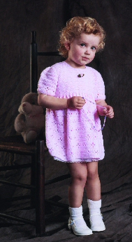 Nana's Girl - Party Dress and Jacket for Little Girls Sizes 1 to 3 years